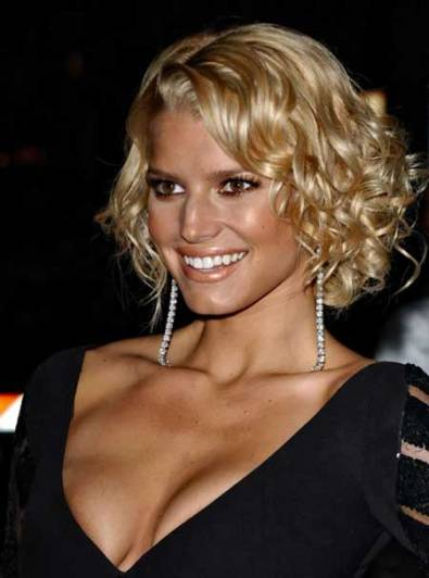 Maybe a little (cough) Jessica Simpson (who I'm sure hopes you're just looking at her awesome hair)